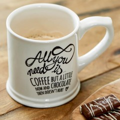 Tasse All You Need Is Coffee