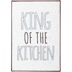 Blechschild King of the Kitchen