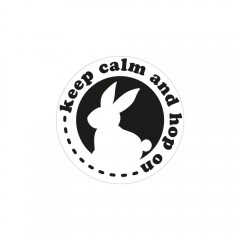Seifenlabel keep calm