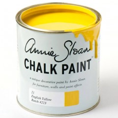 English Yellow Paint Chalk von Annie Sloan