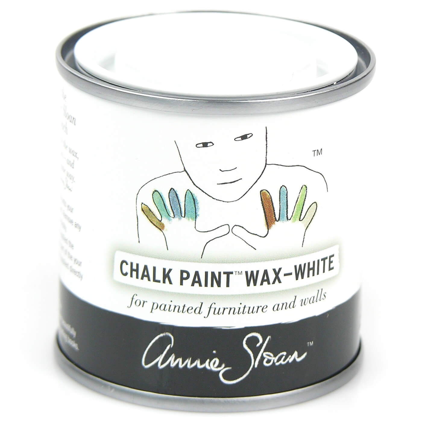 soft wachs weiss 120ml wachse lack annie sloan chalk paint selbermachen dekowebshop. Black Bedroom Furniture Sets. Home Design Ideas