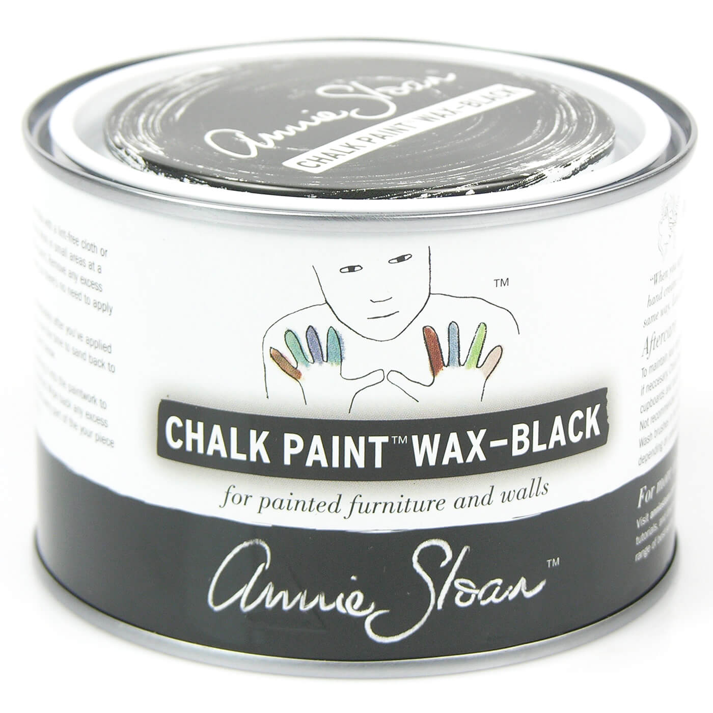 soft wachs schwarz 500ml wachse lack annie sloan chalk paint selbermachen dekowebshop. Black Bedroom Furniture Sets. Home Design Ideas