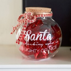 Santa Vorratsglas Storage Jar