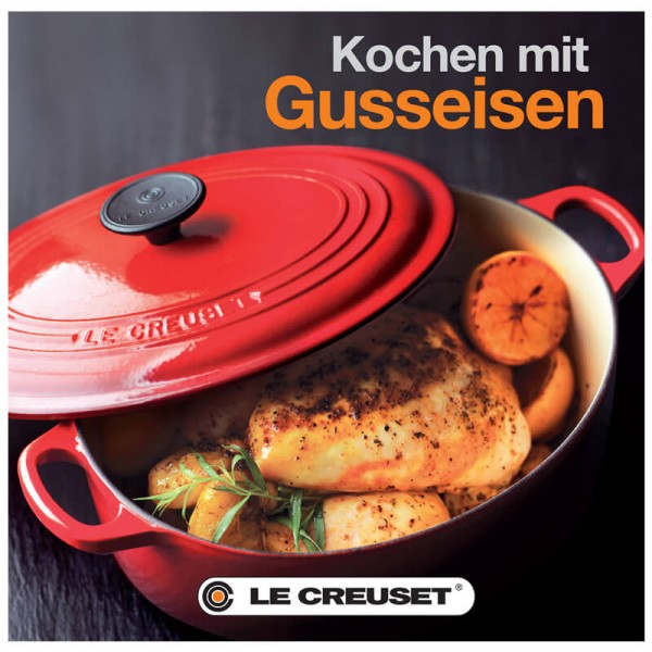 le creuset rezeptbuch kochen mit gusseisen lecreuset serien kollektionen kochen backen. Black Bedroom Furniture Sets. Home Design Ideas