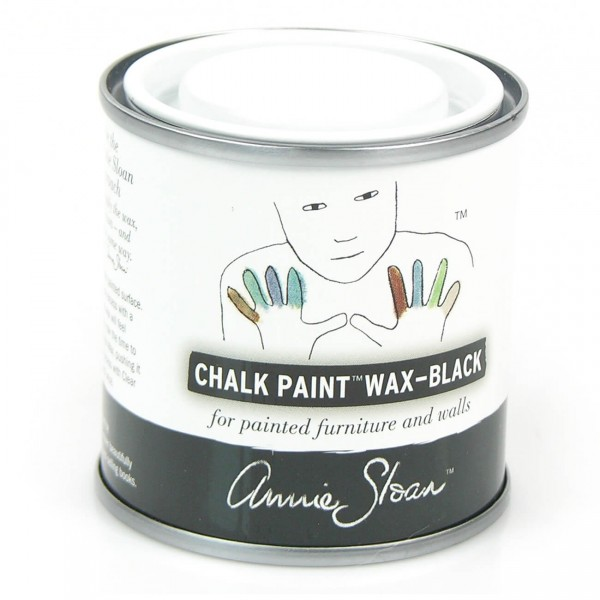 soft wachs schwarz 120ml wachse lack annie sloan chalk paint aufm beln basteln. Black Bedroom Furniture Sets. Home Design Ideas