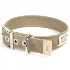 Hundehalsband New Orleans Taupe