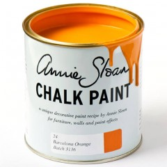Barcelona Orange Chalk Paint von Annie Sloan