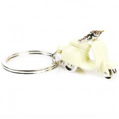 Key Ring Vespa beige